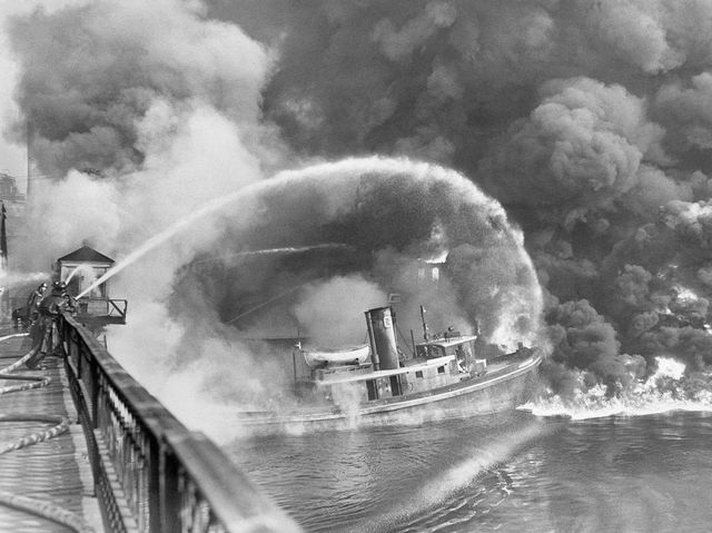 Fire on the Cuyahoga River