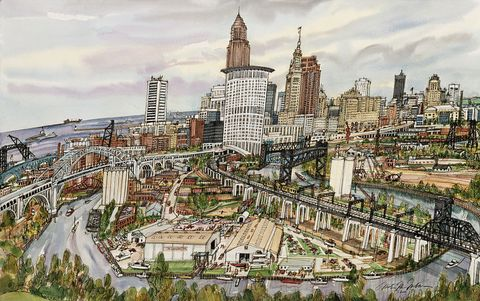 Cleveland, Ohio by Mark McMahon
