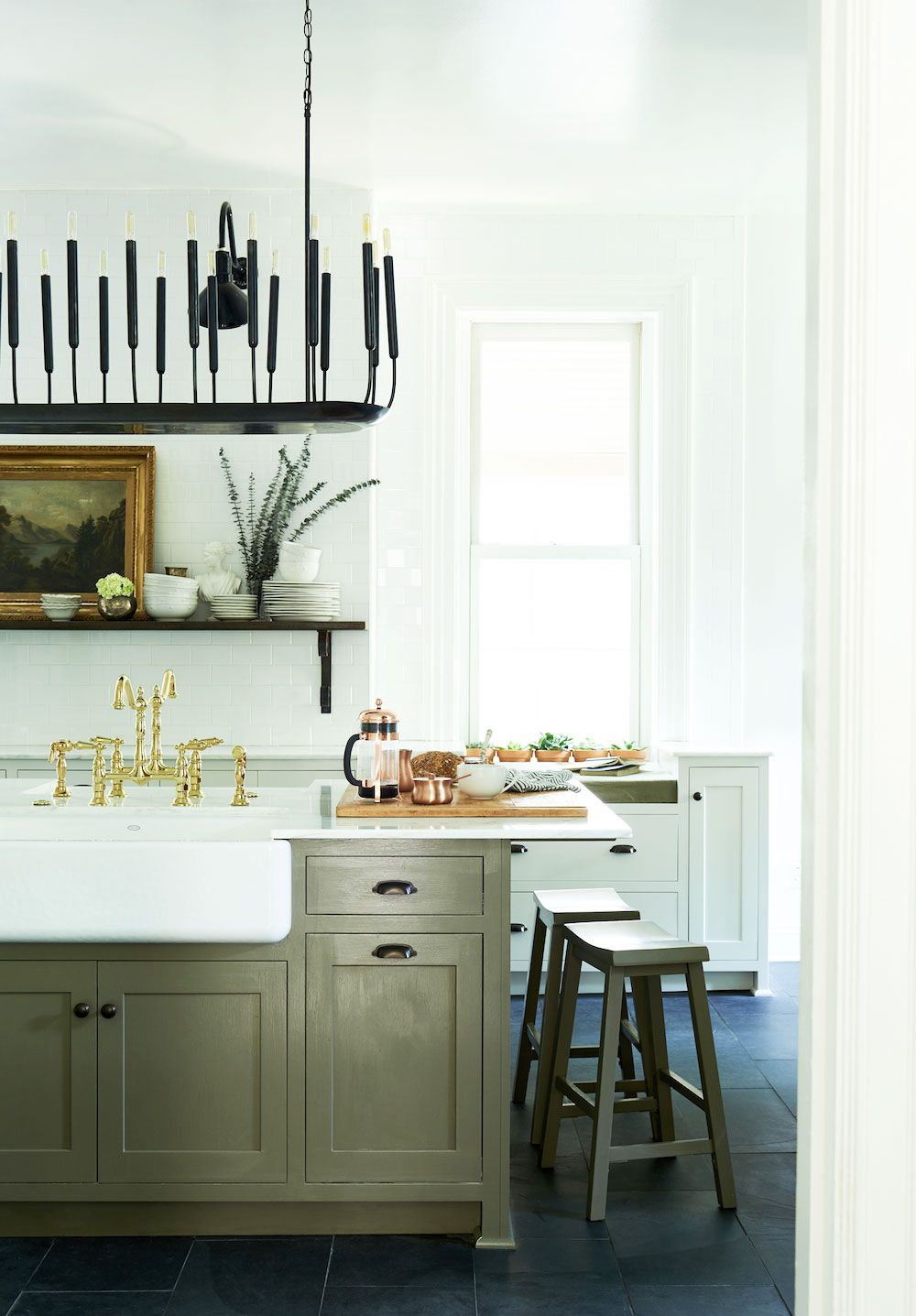 13 Chic French Country Kitchens