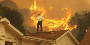 Springs Fire In Southern California Gains Strength, Continues To Threaten Homes