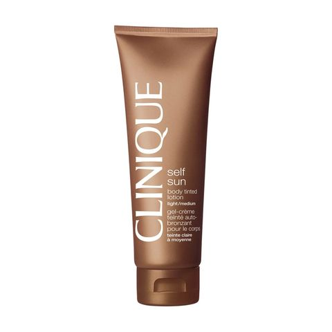 clinique body tinted lotion