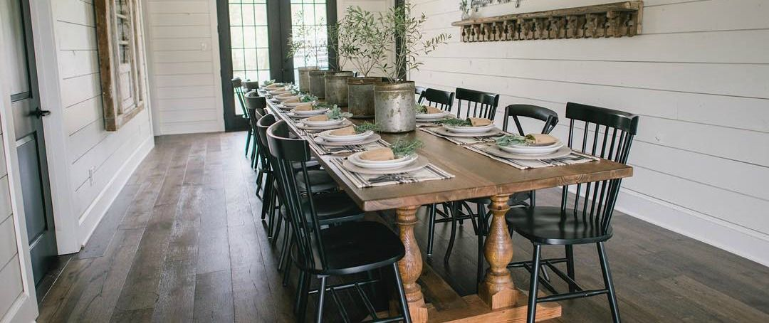 Clint Harp S 6 Best Designs From Fixer, Fixer Upper Dining Rooms