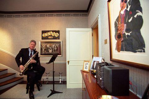 president clinton music room