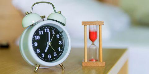 clock bedside