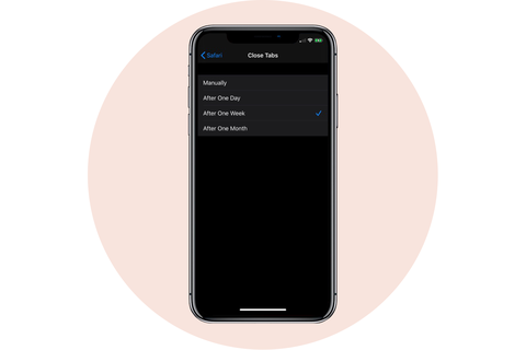 close browser tabs apple iphone