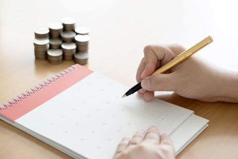 how to get out of debt - schedule