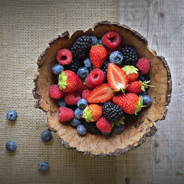 eat lots of vitamin c rich berries to boost your immune system