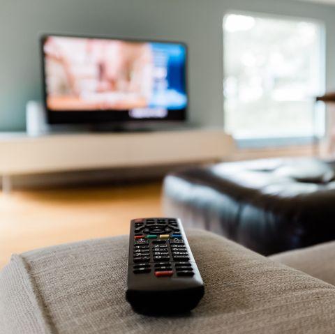 close up of a remote control