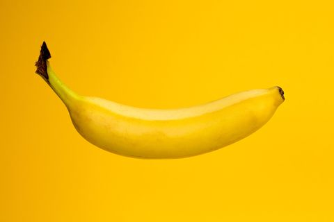 Banana family, Banana, Yellow, Fruit, Plant, Cooking plantain, Legume, Food, Saba banana, Produce,