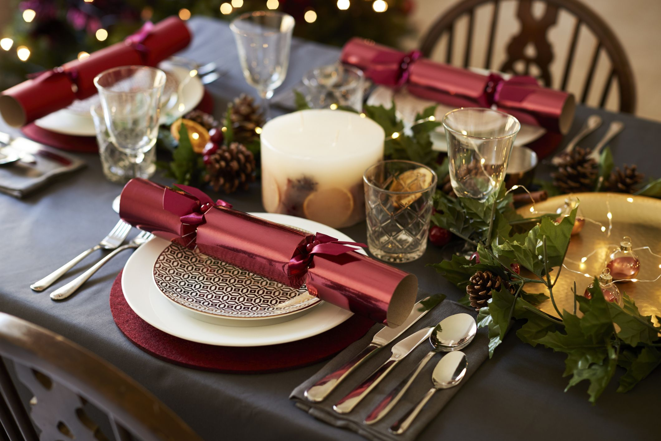 38 Elegant Christmas Table Settings Stylish Holiday Table