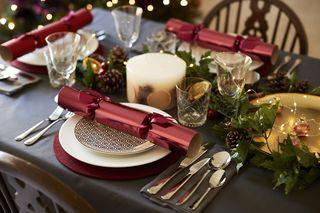 Christmas Setups.38 Elegant Christmas Table Settings Stylish Holiday Table