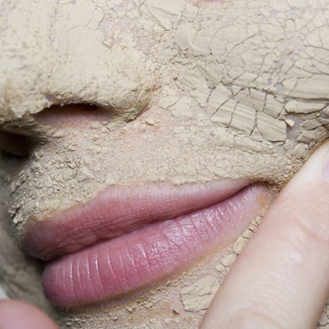 Close-up of face wearing face mask