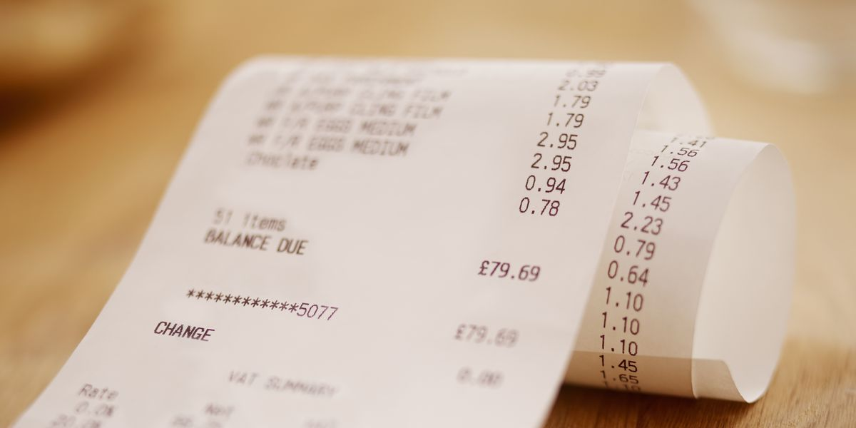 Can Shoping Receipts B...