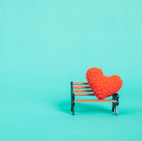 Heart on Bench- Benching in Relationships