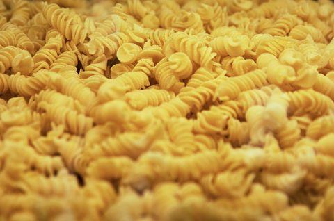 Close-up of Italian Fusilli