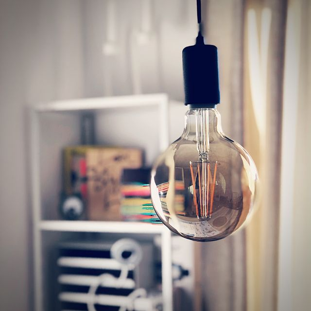 light bulb in the home