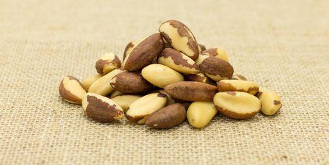 Close-Up Of Nuts ブラジルナッツ Brazil Nuts