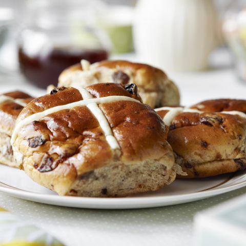 Marks & Spencer hot cross bun