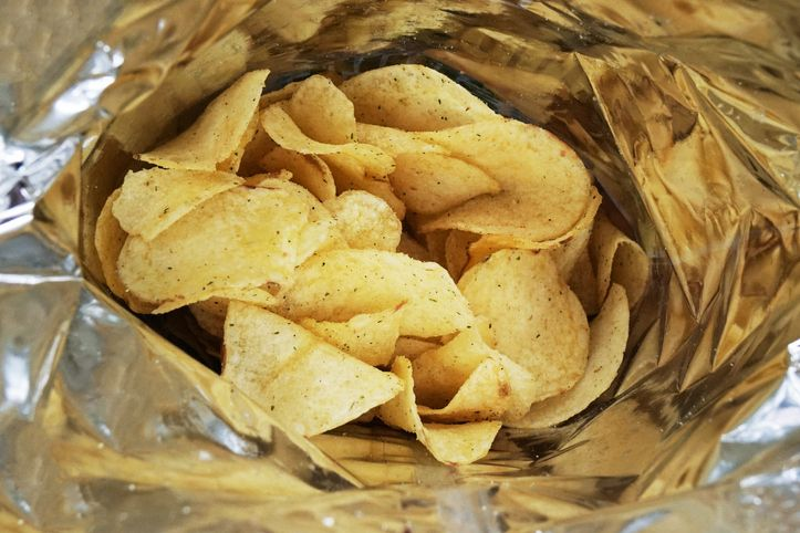 The Future of Virtual Reality—and Spying—Lies in a Bag of Potato Chips