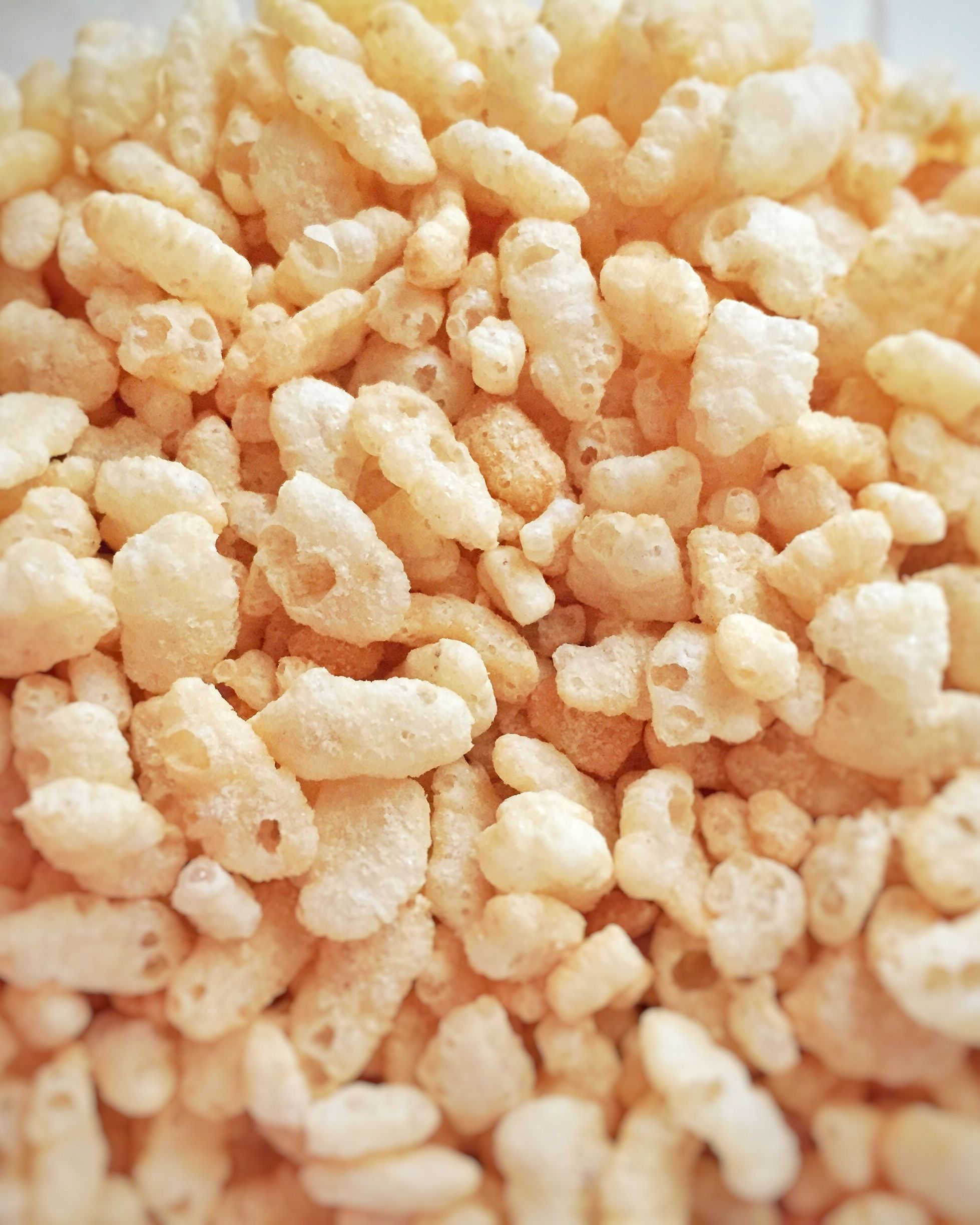 Close-Up Of Puffed Rice