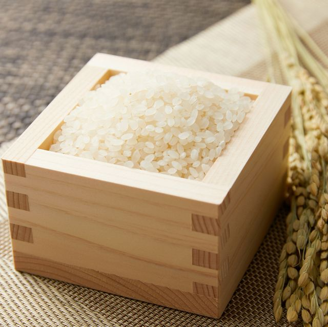 close up of the Japanese rice