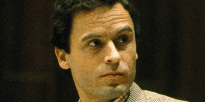 Mass Murderer Ted Bundy Pausing