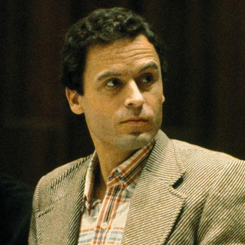 Mass Murderer Ted Bundy Pausing