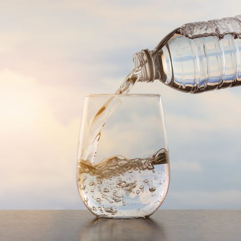 Drinking water for weight loss