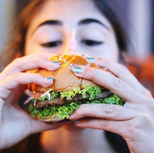 Finger, Food, Cuisine, Finger food, Logo, Recipe, Ingredient, Leaf vegetable, Comfort food, Nail,