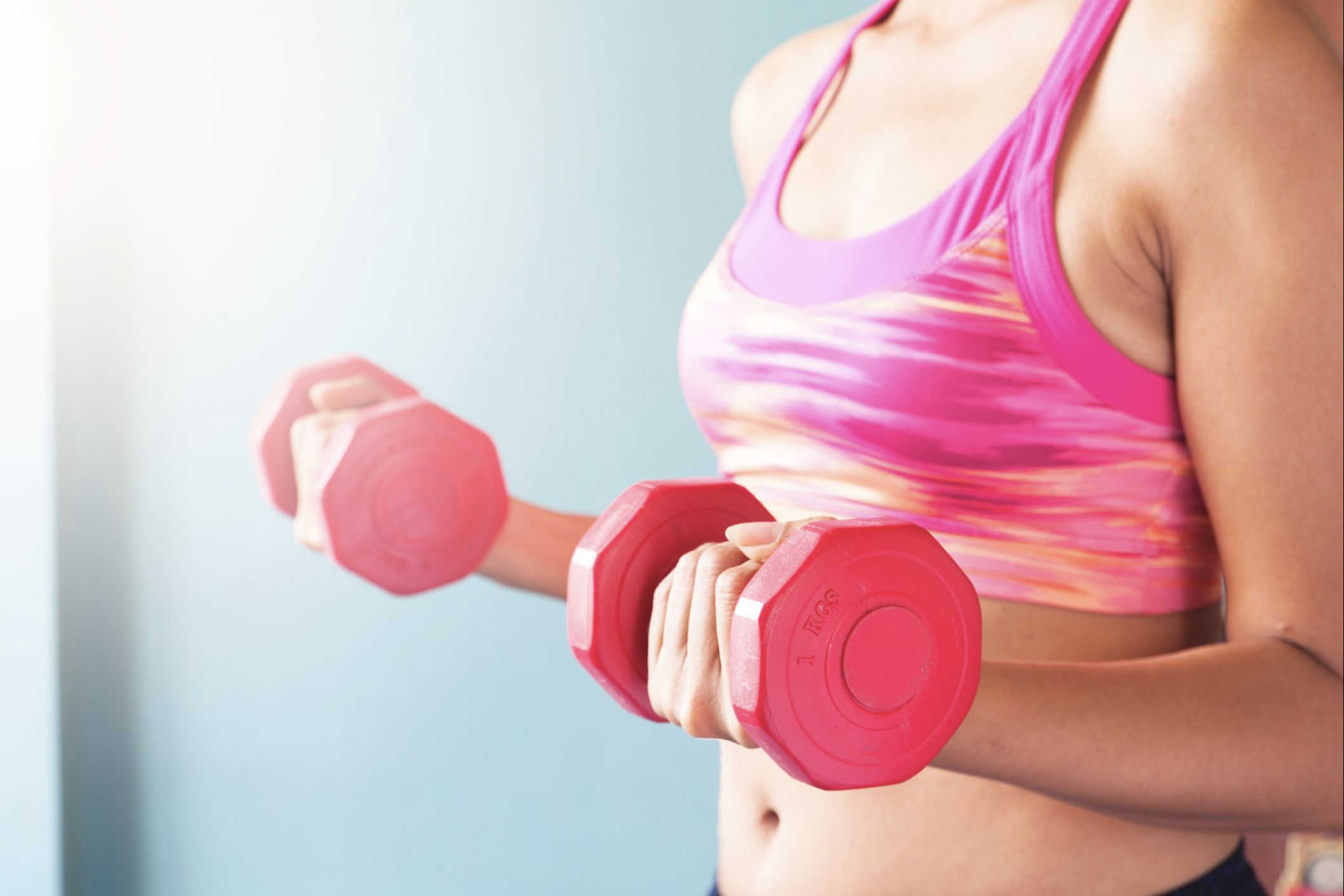 strength training belly fat