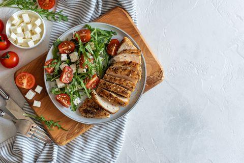 女星瘦身餐 7日雞胸肉減肥 補充蛋白質 雞胸肉健身好處