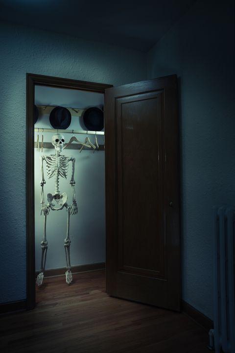 spooky closet