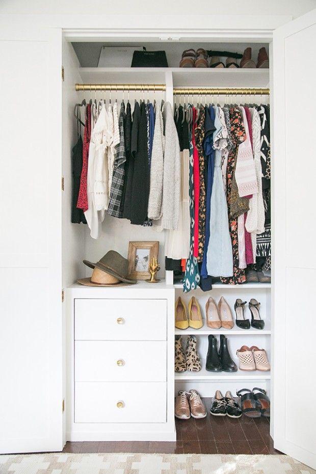 13 best small closet organization ideas storage tip for small closets rh housebeautiful com