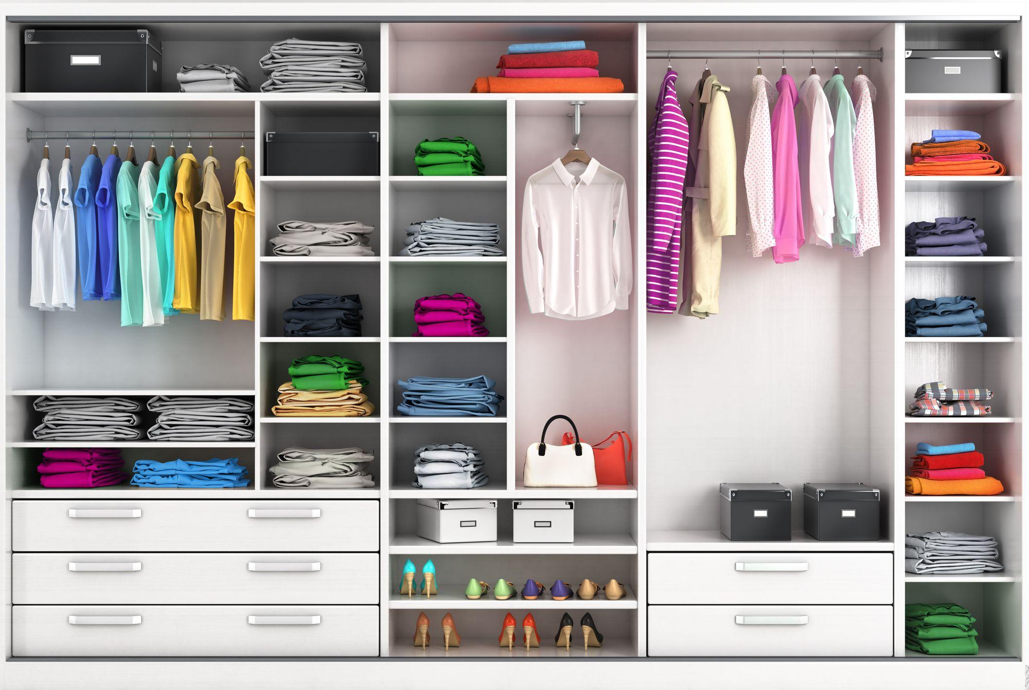 15 DIY Closet Organization Ideas That Will Make Getting Dressed so Much Easier