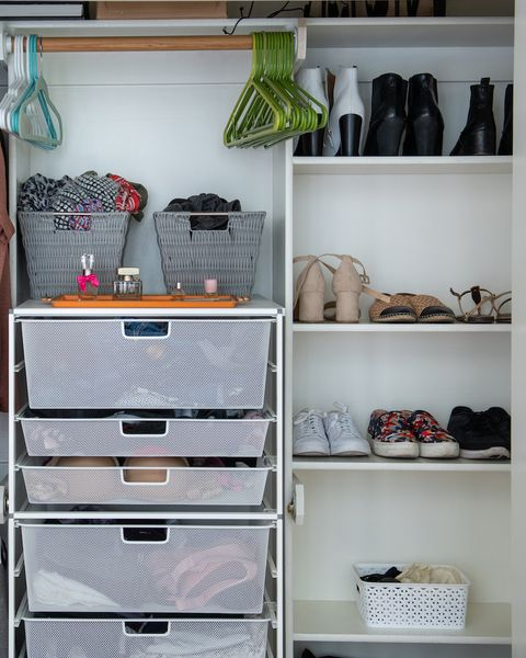 closet organization storage ideas baskets