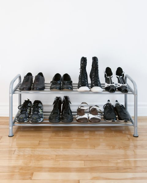 closet organization storage ideas shoe rack