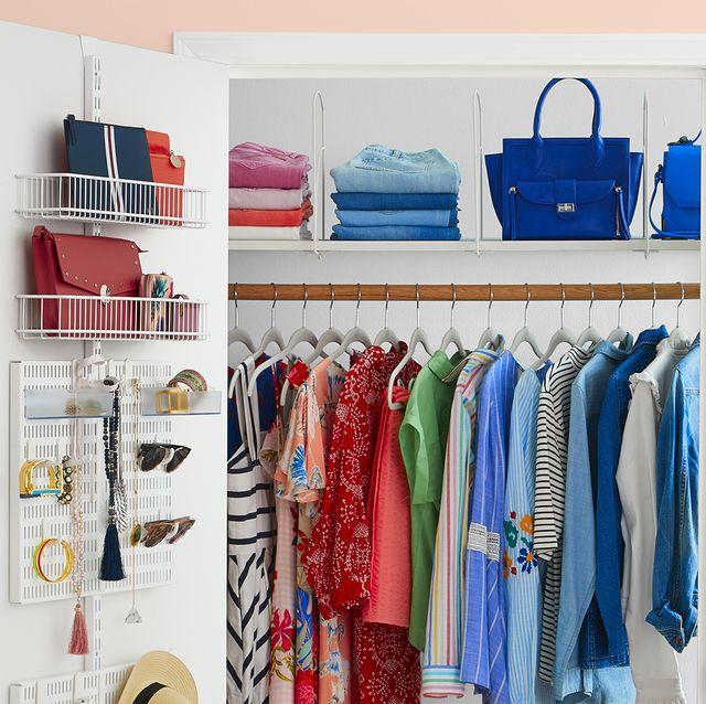 closet organizer ideas