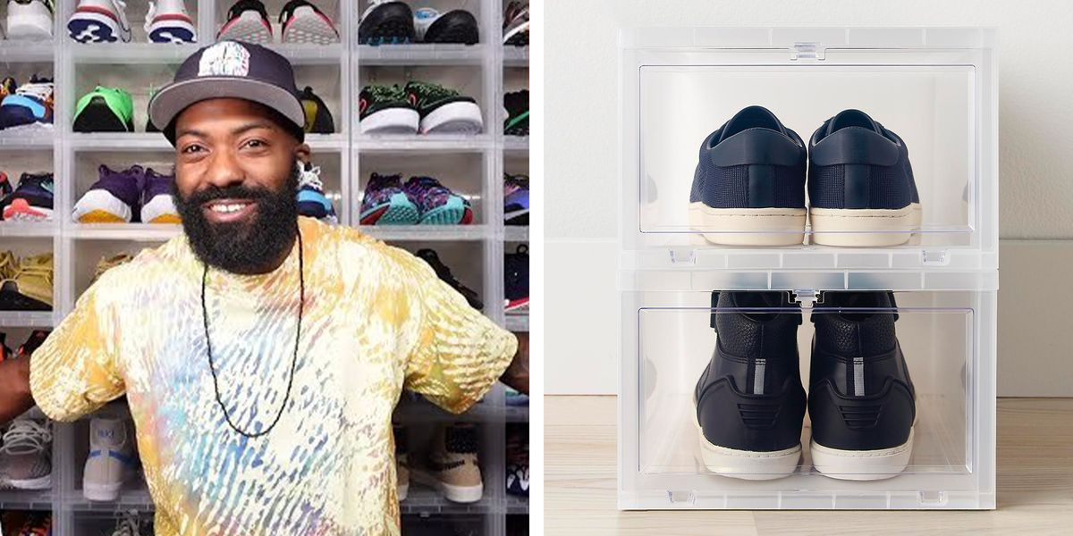 Desus Nice's Shoe Organizer and Six More Closet Storage Solutions