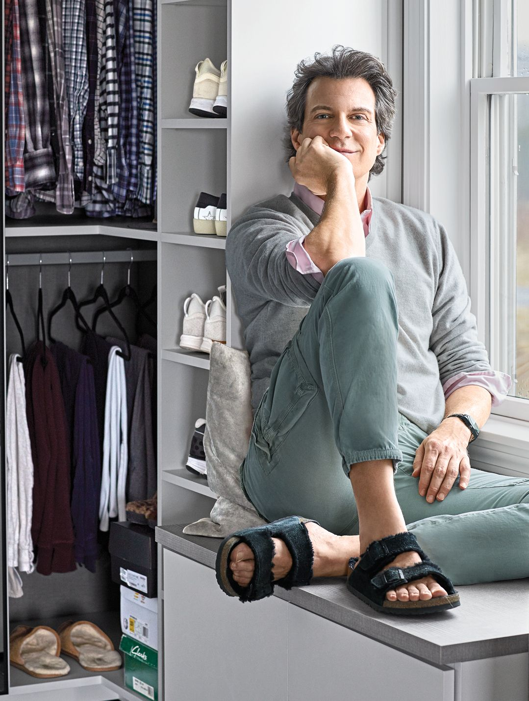 Oprah's Style Guru Adam Glassman Has Closets of Your Dreams
