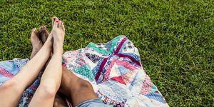 dry feet how to get rid of hard skin on feet - women's health uk