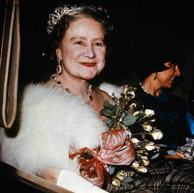 portrait of queen mother elizabeth