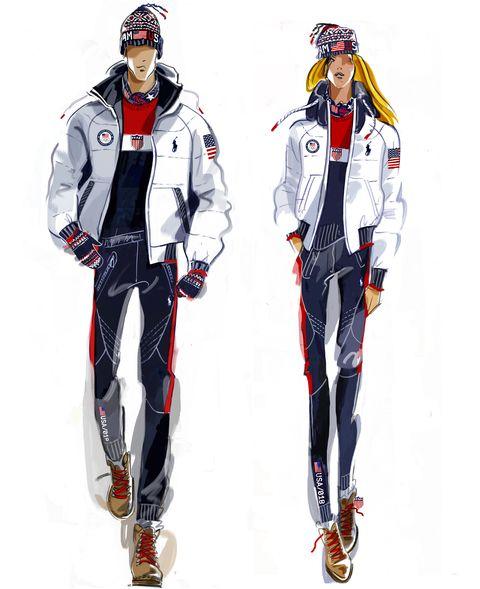 team usa winter olympics 2018 uniforms ralph lauren. Black Bedroom Furniture Sets. Home Design Ideas