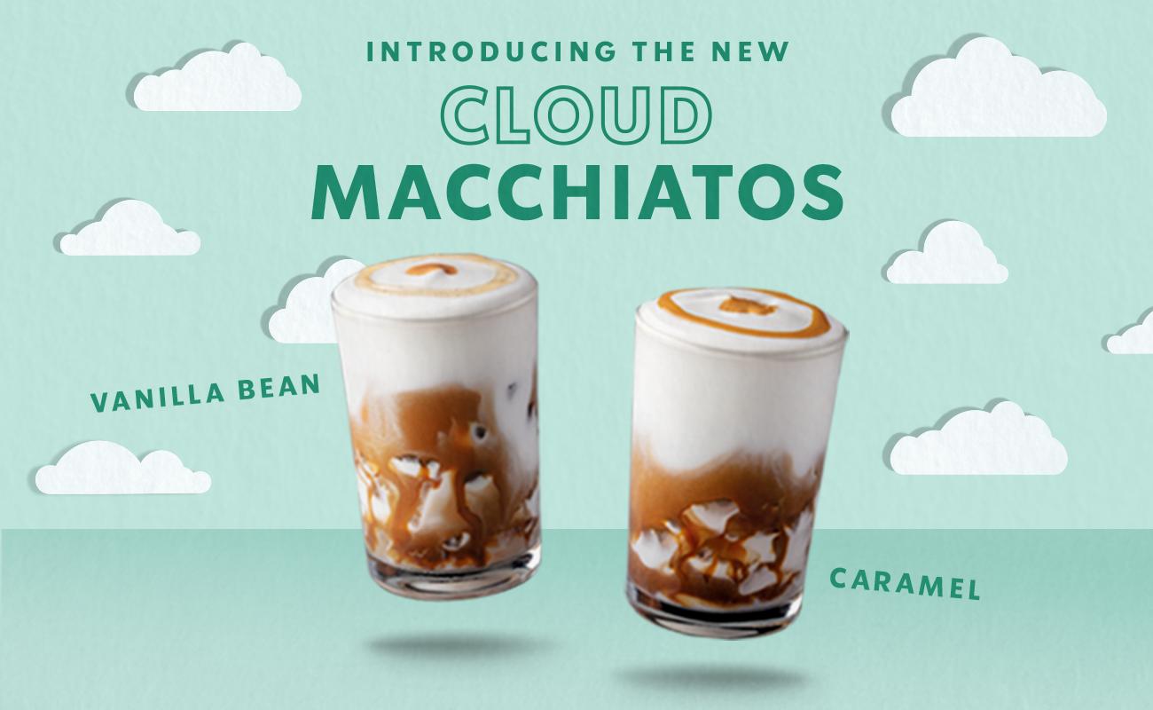 Starbucks Iced Cloud Macchiato Comes In Two Delicious Flavours