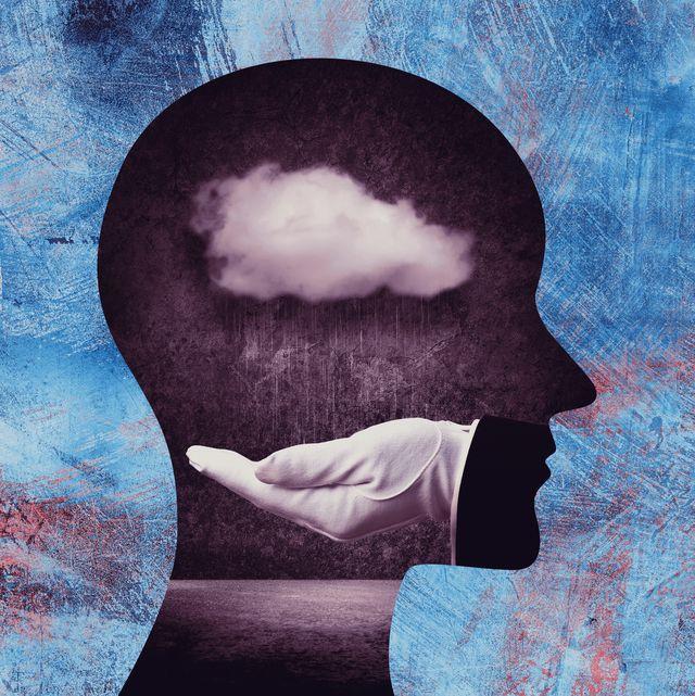 cloud inside head
