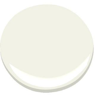 White Paint Benjamin Moore