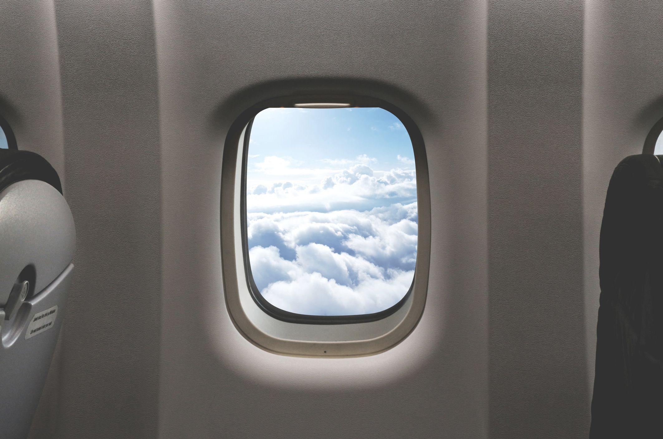 Si ves esto en un avión, no te asustes... ¿o sí?