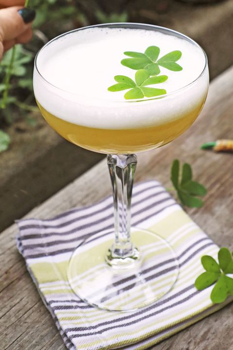 clover whiskey sour recipe
