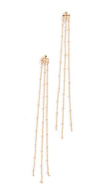 Earrings, Jewellery, Chain, Fashion accessory, Body jewelry, Metal,