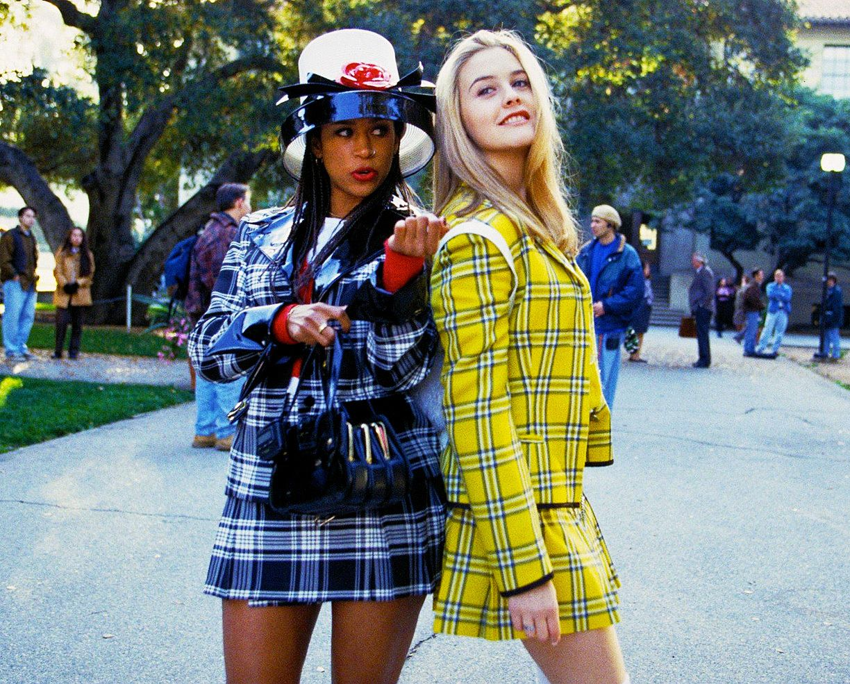 Is Anything Better Than Alicia Silverstone Wearing Her Iconic Clueless  Yellow Plaid Outfit?