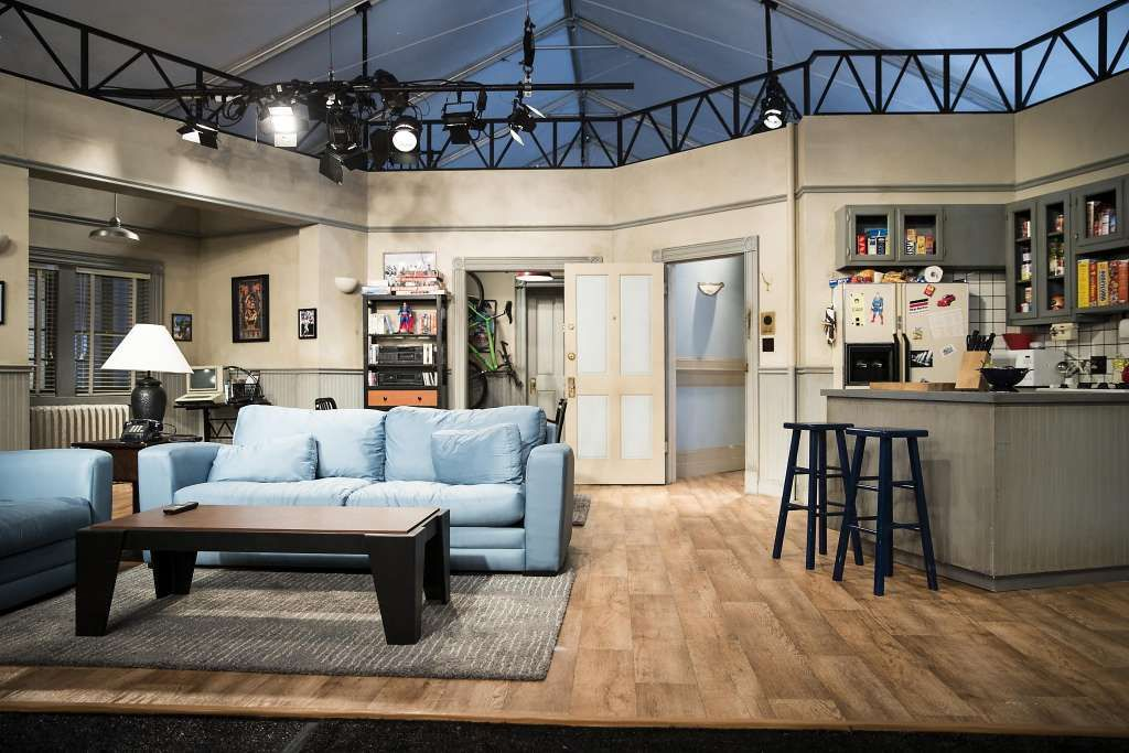 A full-scale apartment replica from comedy show Seinfeld is seen during a preview for the Colossal Clusterfest comedy festival in San Francisco on Thursday, June 1, 2017.​​